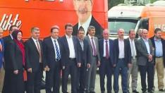 AK Parti Milletvekili adayları Edremit'te halkla buluşuyor