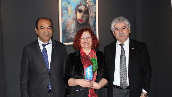 Bandırma Zübeyde Varan resim sergisi açıldı