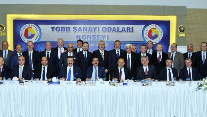 Sanayicilerin sorunları TOBB'da masaya yatırıldı