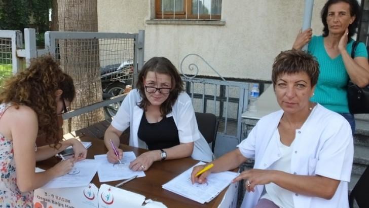 Burhaniye'de Organ Bağışı İlgi Gördü