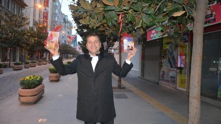 Karesi'de Ağaçlar 'Kitap' Açtı