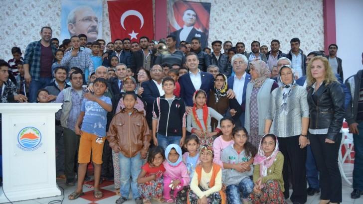 Ahmet Akın Roman Vatandaşlarımıza ve Partililerine Seslendi