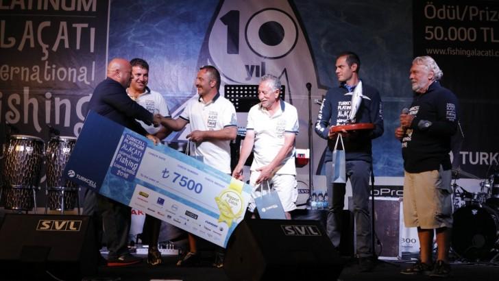 Büyük Balığı Yakaladı  Ödülü 15 Temmuz Derneği'ne Bağışladı