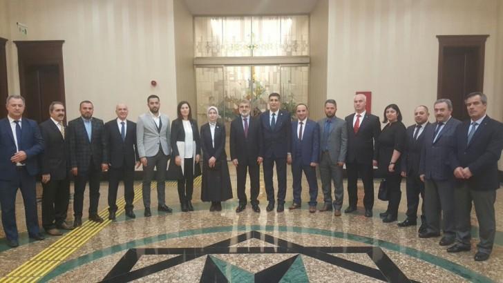 Bandırma Yönetiminden Ankara Ziyareti