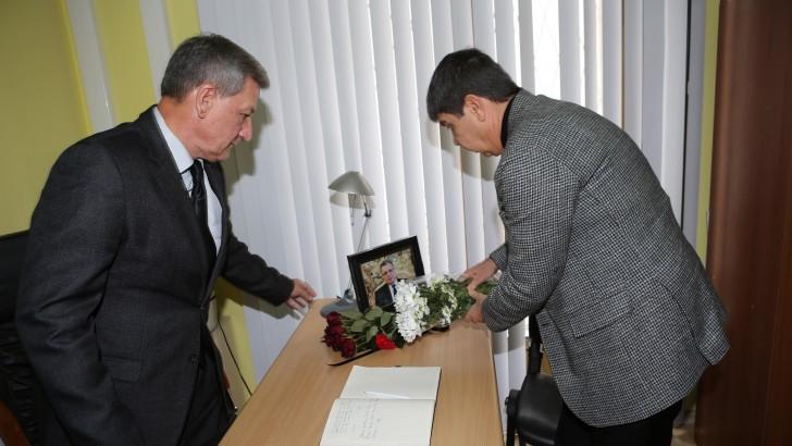Türel'den Rus Başkonsolosa Taziye Ziyareti